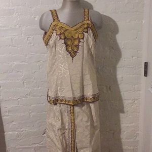 1960s Couture Saks Fifth Avenue Silk Outfit